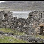 MADP. Ruinas iglesia vikinga de Hvalsey. Groenlandia