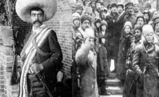 La Comuna zapatista de Morelos y la Revolución de Octubre